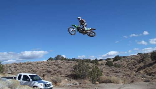 motorcycle jump carson valley